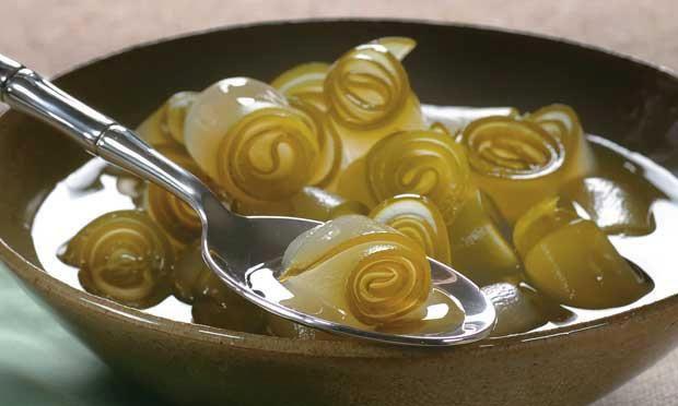 doce de mamão verde em anel