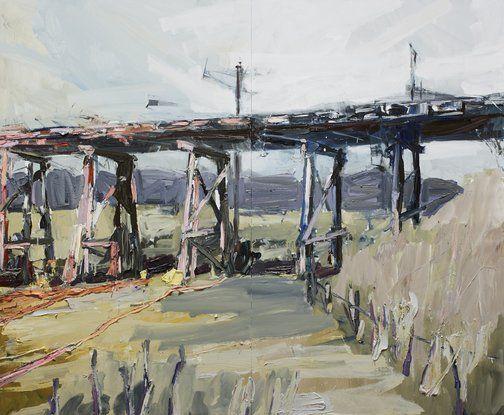 Guy Maestri: Grange Burn Bridge :: Wynne Prize 2016 :: Art Gallery NSW
