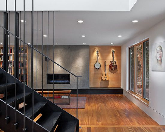 Acoustic guitar display design pictures remodel decor for Acoustic guitar decoration ideas