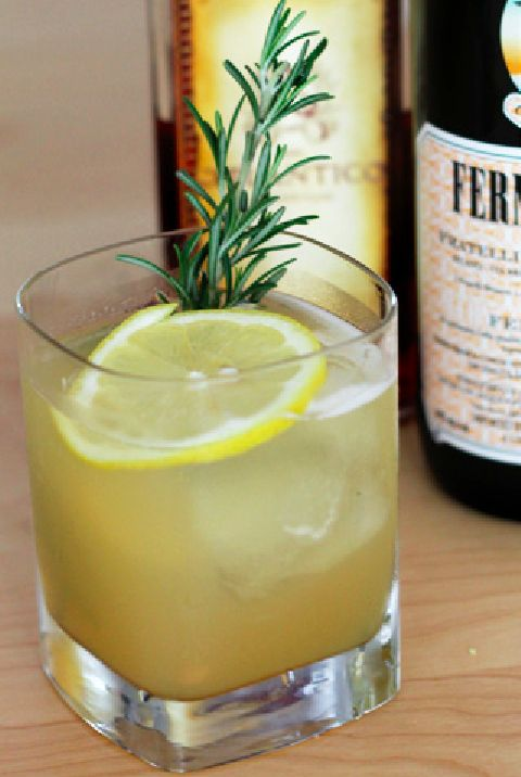 Cider Smash / 19 Fun Ways To Drink Fernet Branca (via BuzzFeed)