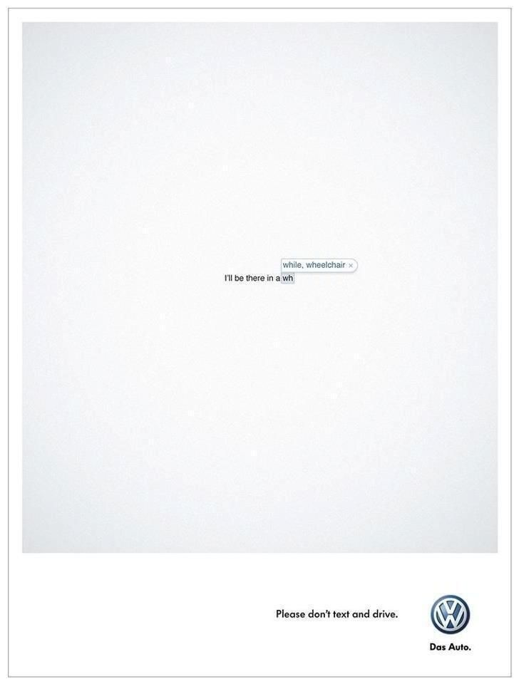 Printwerbung VW