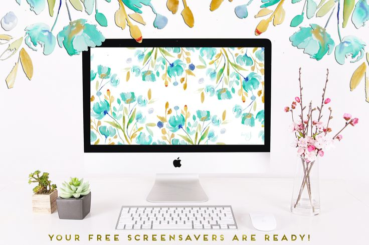 An AMAZING Destop Wallpaper from the gorgeous Bari J!! Love this newsletter!