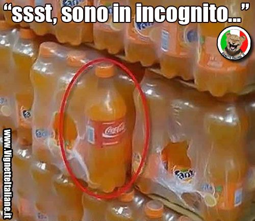 Bevande sotto copertura (www.VignetteItaliane.it)