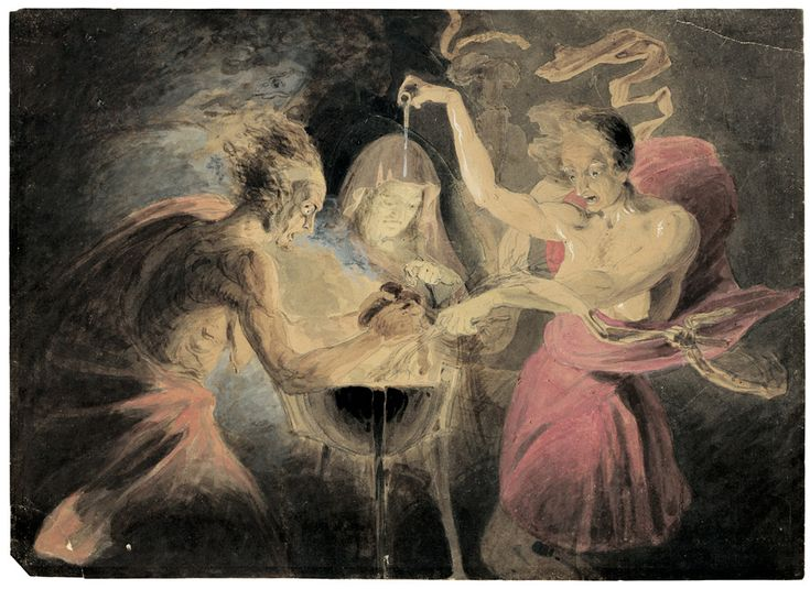 macbeth the witches dramatic impact on the play This entailed, subtle dramatic endorsement of catholic values is surprising in a play  later in the play, when the witches in act 4, scene 1 are performing an  jacobean protestants had come to think of the spiritually ruinous effect of the.