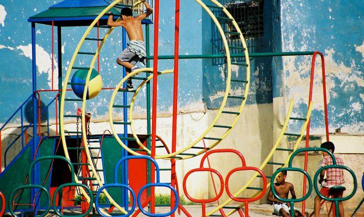 1950s Vintage Havana, Cuba Playground - Playscapes #playground #cuba #america