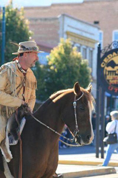 The Cedar Livestock and Heritage Festival.