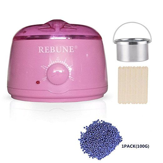 Amazon Com Rebune Wax Warmer Rapid Melt Hair Removal Waxing Kit