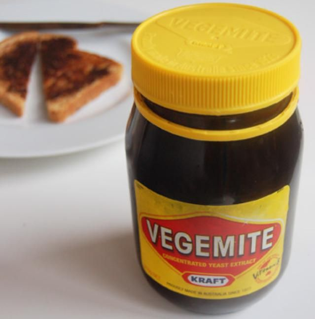 NEW ZEALAND Iconic Australian and New Zealand Foods: Vegemite - actually learned to like this!