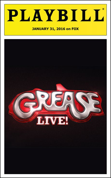 Playbill is ready to give you the full theatrical experience at home with our Official Grease: Live Playbill!