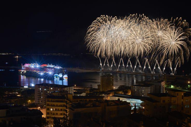 AIDAperla, das zwölfte Mitglied unserer AIDA Flotte, wurde in Palma de Mallorca feierlich getauft.