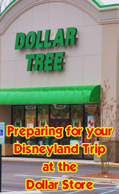 What to buy for your trip at the dollar store - great discounts here!