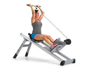 Row Trainer de Total Gym es la sexta estación del circuito Elevate Line para entrenamiento funcional. Una #MáquinaDeRemo que integra el factor fuerza en un equipo de cardio.