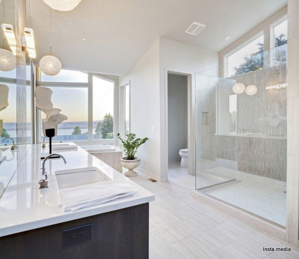 Master Bathroom Enclosed Toilet apartment bathroom upgrade: small bathrooms big design. images of