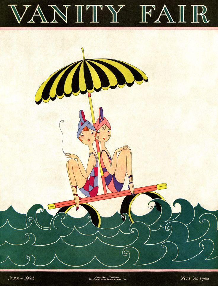 Le damos la bienvenida al fin de semana con esta portada de A. H. Fish publicada en 1923 #VanityFairMx