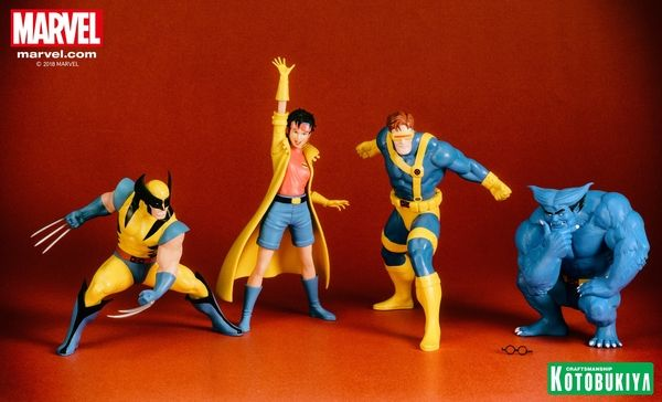 X Men 92 Beast Cyclops Artfx Statues Marvel X Men Cyclops Men