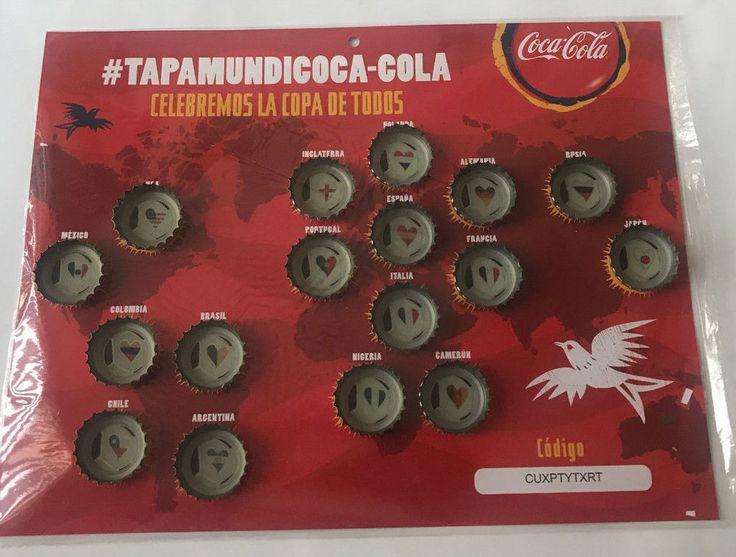 COCA COLA brazil 2014 world cup soccer 17 CAPS SET beautiful SOUTH AMERICA RARE  | eBay