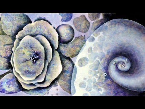 Acryltechniken kombinieren Combining acrylic techniques Nr 7 - YouTube