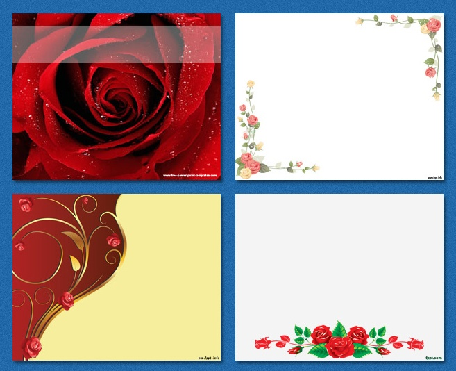 12 best st valentines powerpoint templates images on pinterest roses background free background graphics toneelgroepblik Image collections