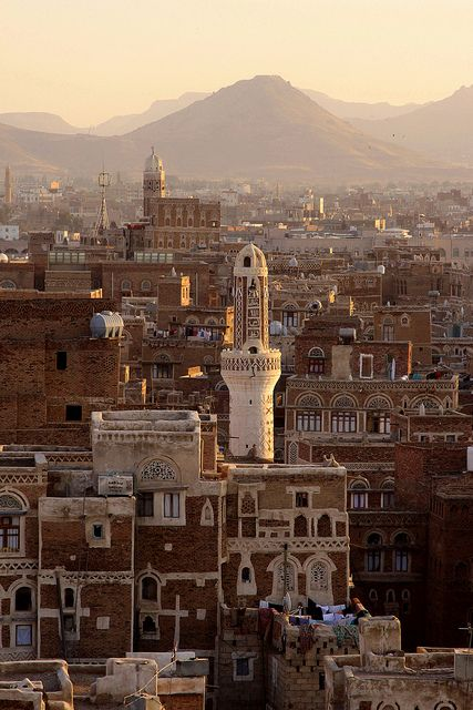 yemen - sana'a by Retlaw Snellac, via Flickr