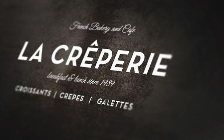 brand for la creperie!