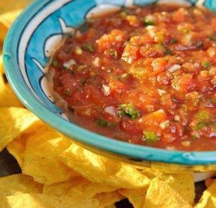 Pikante tomatensalsa