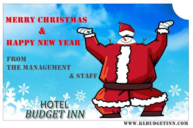 Hotel Budget Inn Merry Christmas & Happy Holidays to You! Hope 2014 brings love, luck, health, happiness.. -- www.klbudgetinn.com