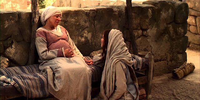 Christelike Boodskappies: 'n  Meer moderne beskrywing  van Maria se besoek a...