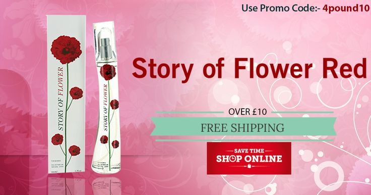 Buy Story Of Flower Red Perfume for just £2.17. Order today to get 10% OFF. Apply coupon code as 4pound10. ‪#‎Free_Shipping‬ Availability at ‪#‎4pound‬ ‪#‎perfumes‬ ‪#‎offers‬ ‪#‎newyear‬ ‪#‎discounts‬ http://www.4pound.co.uk/story-of-flower-red