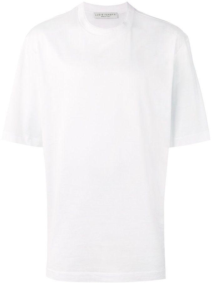 Lucio Vanotti plain white T-shirt