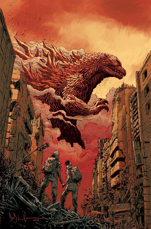Godzilla Art (2000-2003). Awesome!