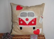 VW Camper - Personalised Cushion | Cant Find in the Shops perfect retro gifts for Valentines Day