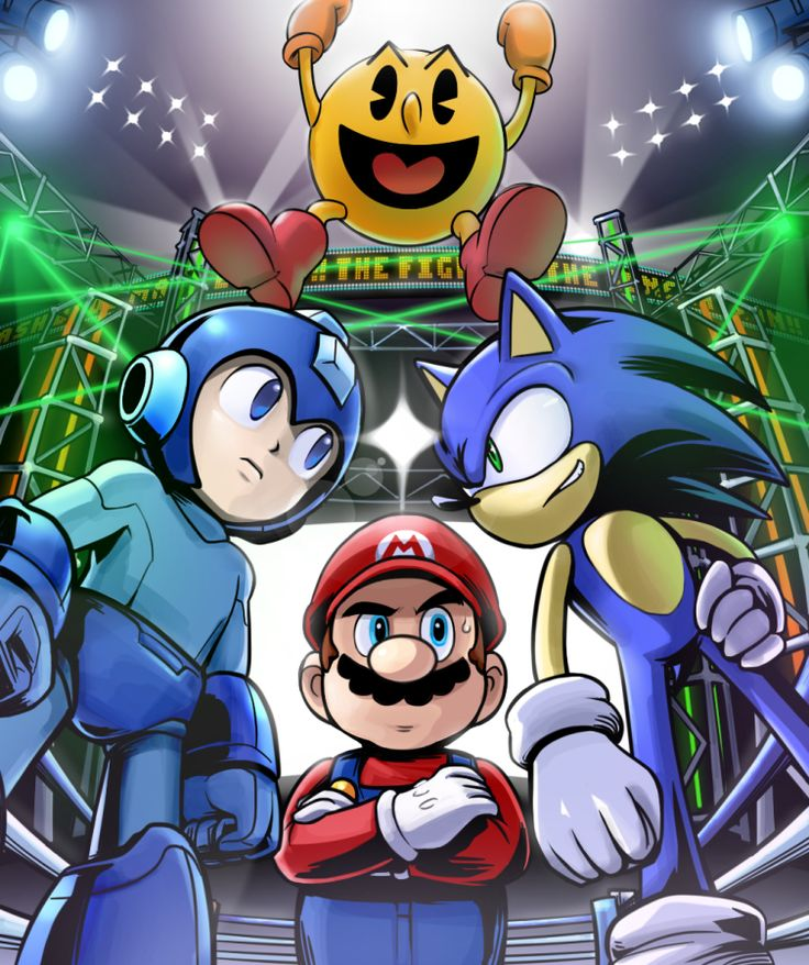 Video Game worlds collide in Super Smash Bros. 4.