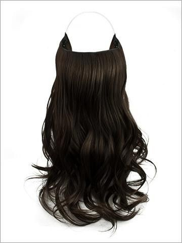 """Hidden Halo 18"""" Flip-In Extensions w/ Clips 100% Futura Fiber by LORD & CLIFF"""