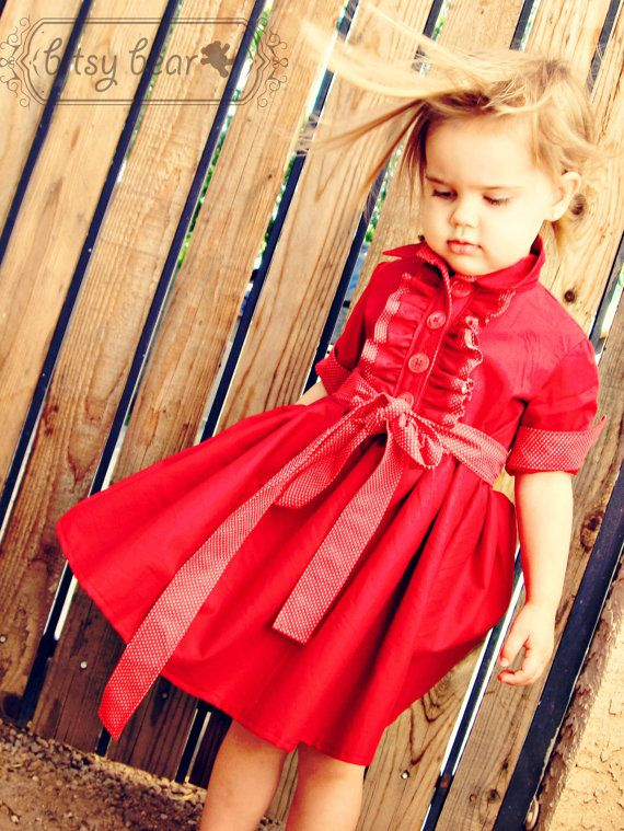 PREORDER Holiday Tuxedo Dress for baby toddler and by bitsybear. Love her blog, too! Chelise  Patterson