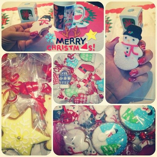 Cookie #christmascookie #christmas #cookie