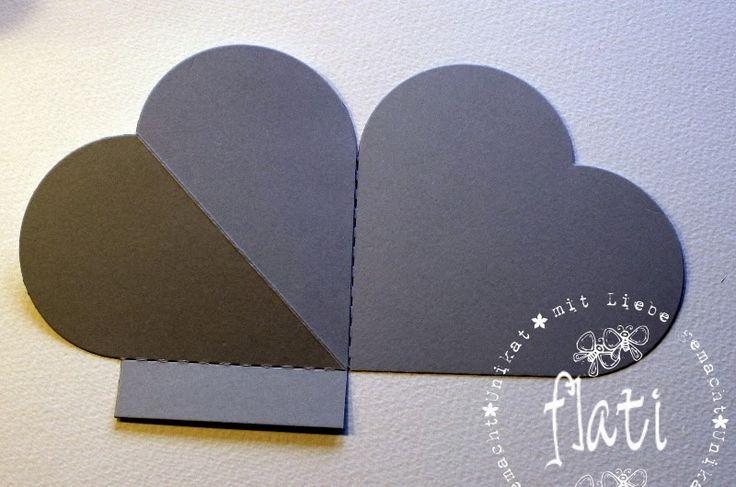 #3/6 heart easel card, had to translate. Whiff of Joy - Tutorials & Inspiration: ♥ Herzeaselcard ♥