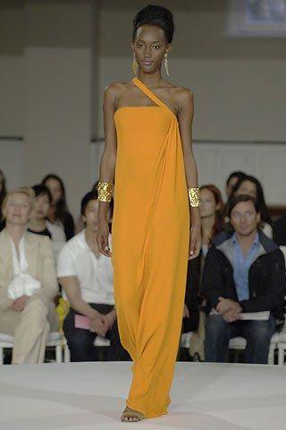 Oscar de la Renta Resort 2008 Fashion Show - Jaunel McKenzie