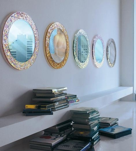 How To Decorate A Mirror With Mosaic Tiles Best 25 Mirror Mosaic Tiles Ideas On Pinterest  Wall Mirrors