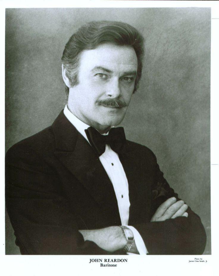 John Reardon (Baritone), April 8, 1930 - April 16, 1988 ~ A wonderful singer, actor, human being. Never forgotten <3
