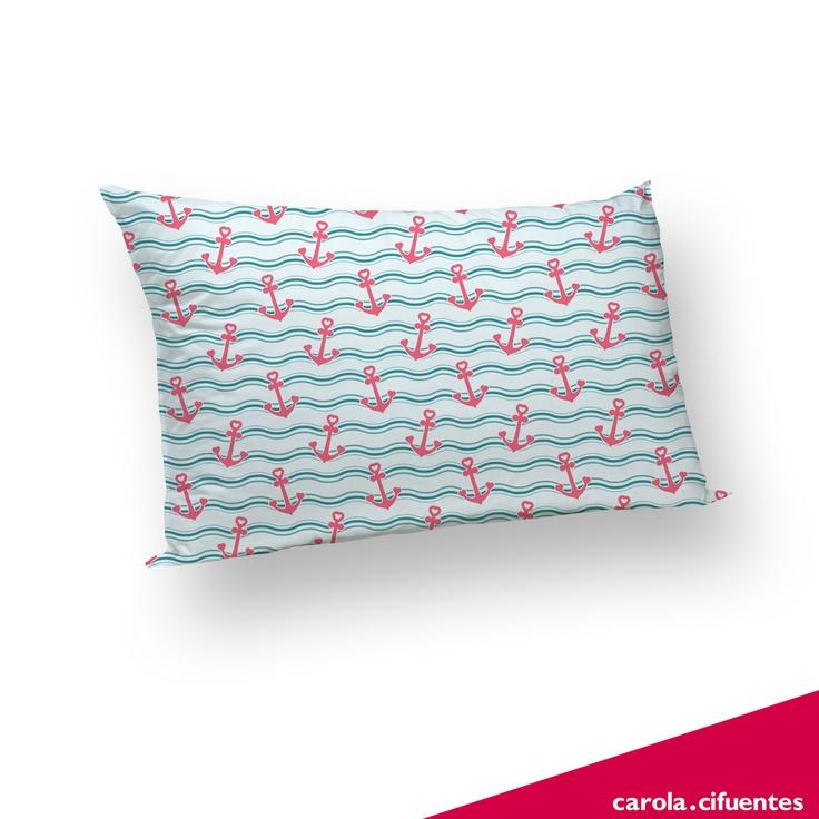 Ancoras - travesseiro