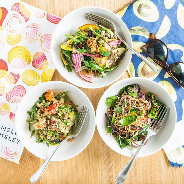 Eat the rainbow with our colourful salads!