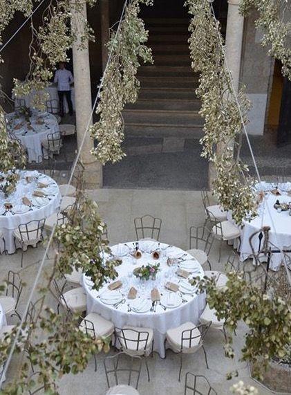 Decoracion de bodas en patios especiales