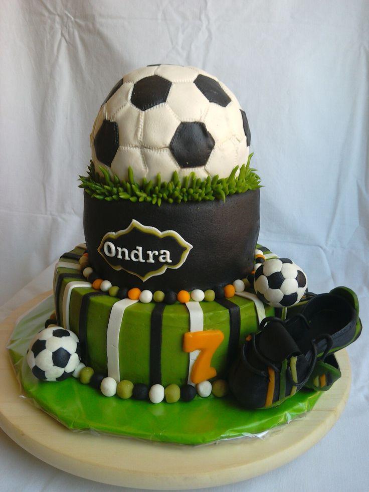 Football cake birthday