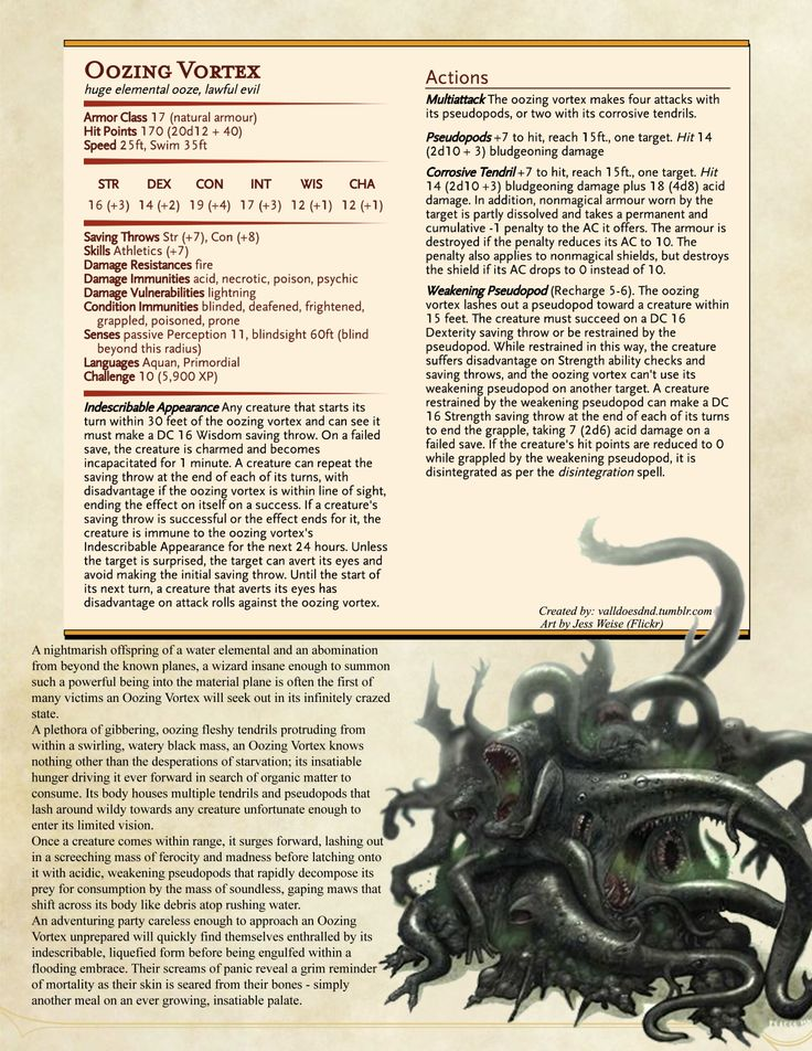 """Another homebrew, this time designed using the """"Spawning Pool of the Elder Things"""". I think it's turned out fabulously - I'm certainly looking forward to my players finding one of these! ;) Rules for the Spawning Pool PDF can be found Here Art by..."""