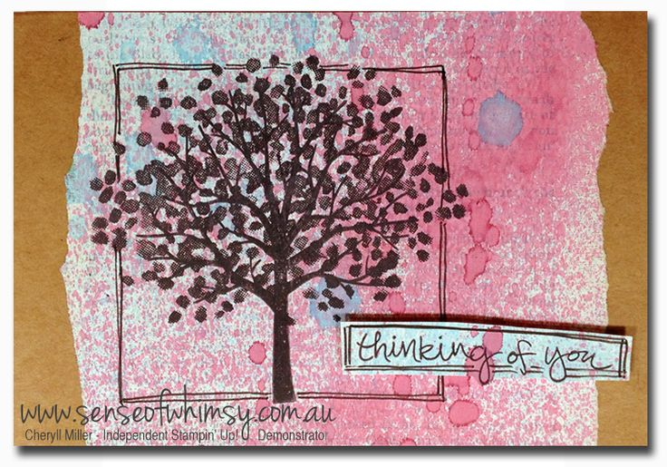 1000+ images about Stampin up sheltering tree on Pinterest | Stampin ...