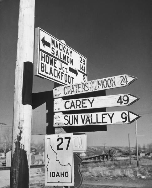 Arco/Mackay/Carey/Sun Valley- Idaho