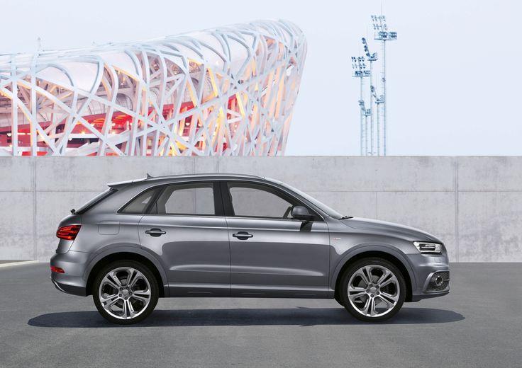 Audi Q3, con la luneta trasera, muy inclinada, realza su deportividad. www.audisolano.com