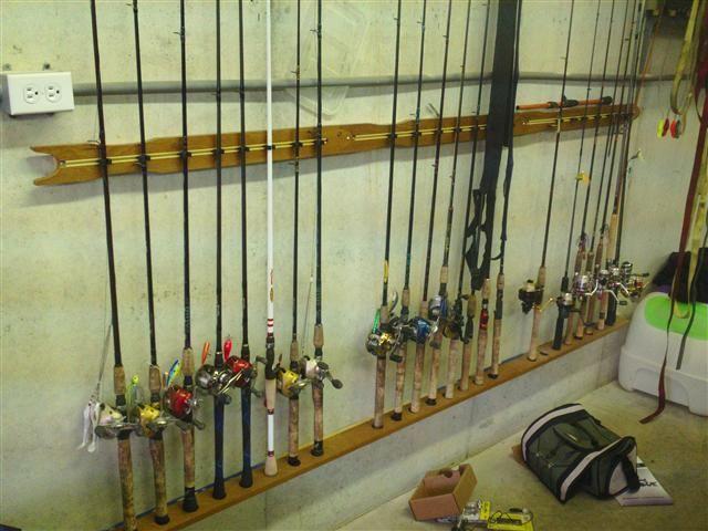 fishing equipment storage