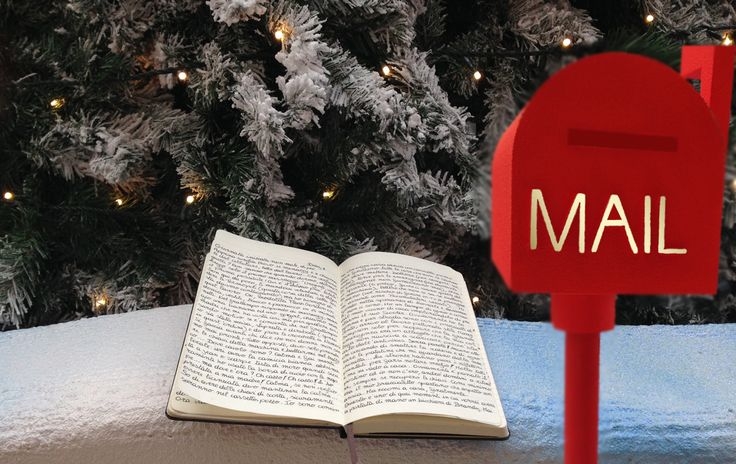 Diario di una spartana, day 17  #moleskine #mail #christmas
