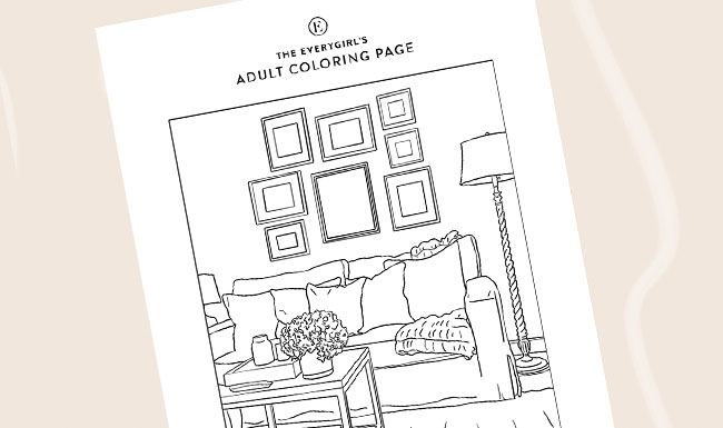 Week 2 The Everygirl S Free Printable Coloring Pages Coloring Pages Printable Coloring Pages Printable Coloring